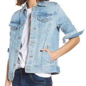 AG MYA Denim jacket sunlight blue